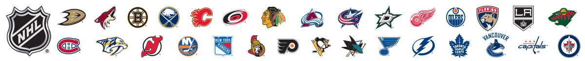 2017 NHL® Teams